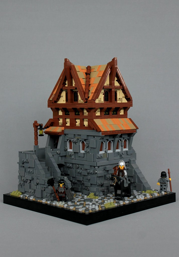 Proudspire Manor (custom built Lego model)