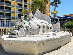 #castlesmadeofsand #fishtales #treasureisland #boardwalk