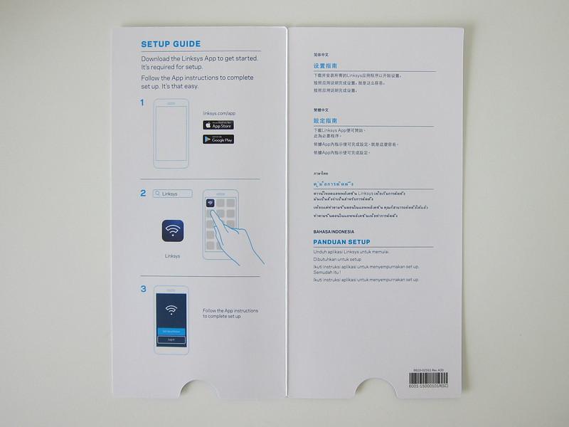 Linksys Velop - Instructions