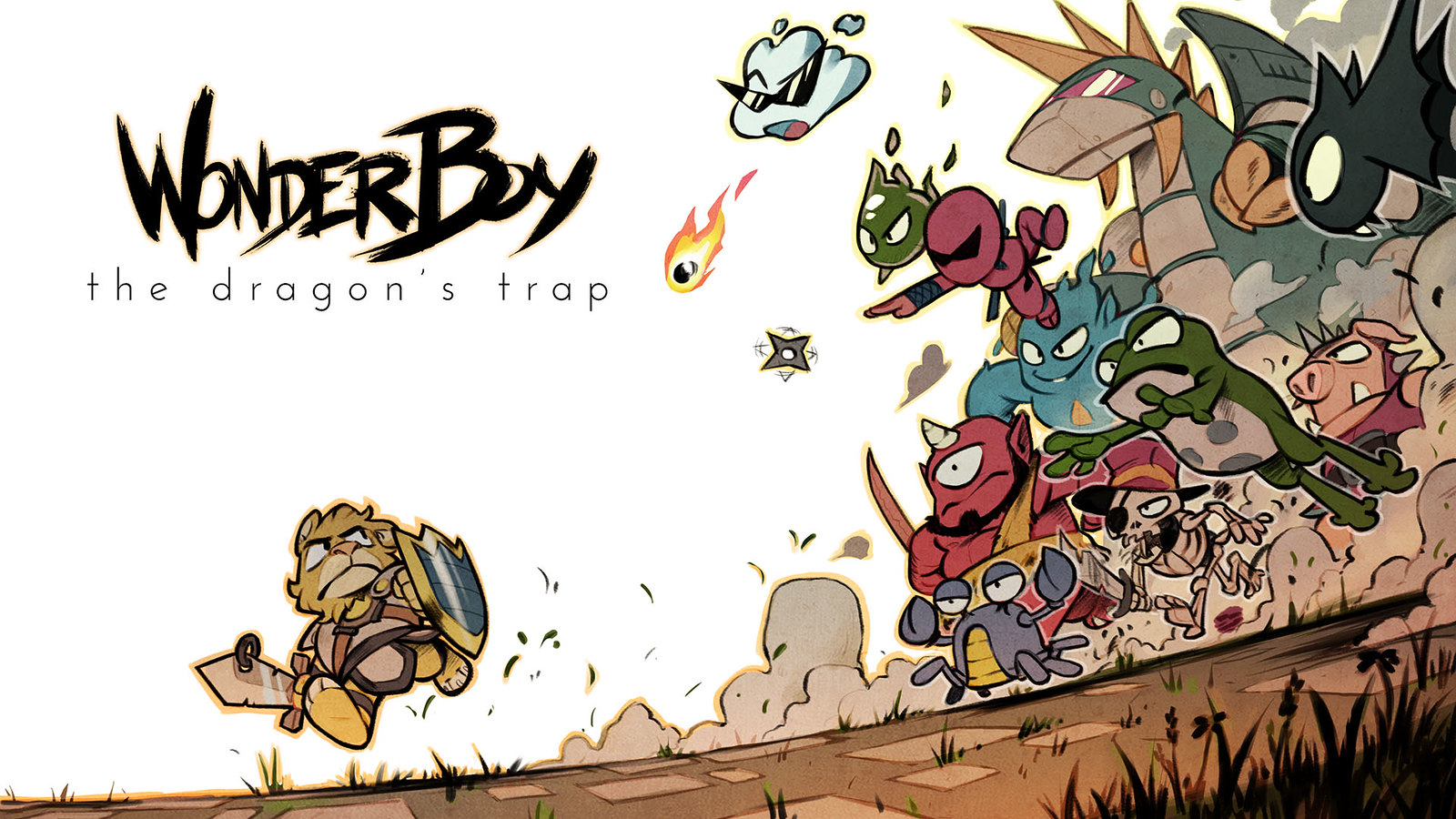 Wonder Boy: le piège du dragon