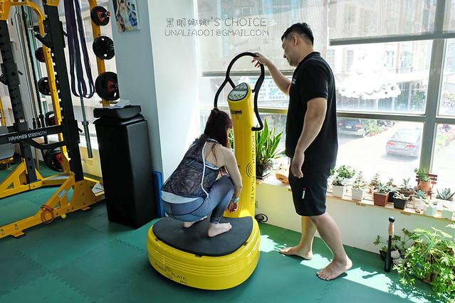 台南康體運動空間PowerPlate蹲