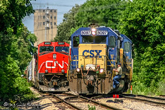 CSX 8097 | EMD SD40-2 | CN Fulton Subdivision
