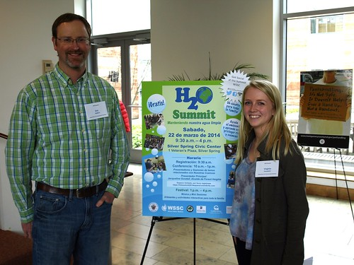 Image of DEP monitoring staff at the H2O Summit