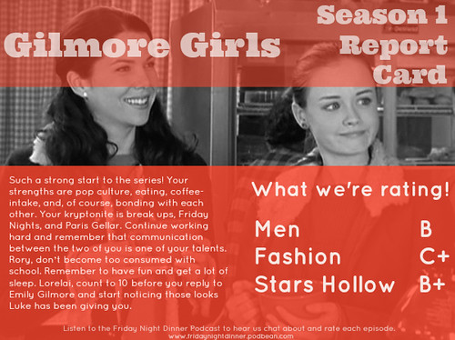 Gilmore Girls S1 Report Card