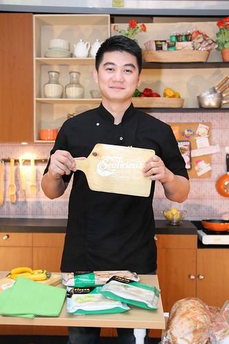 Chef Arnold- Brand Ambassador Fiesta Seafood 2