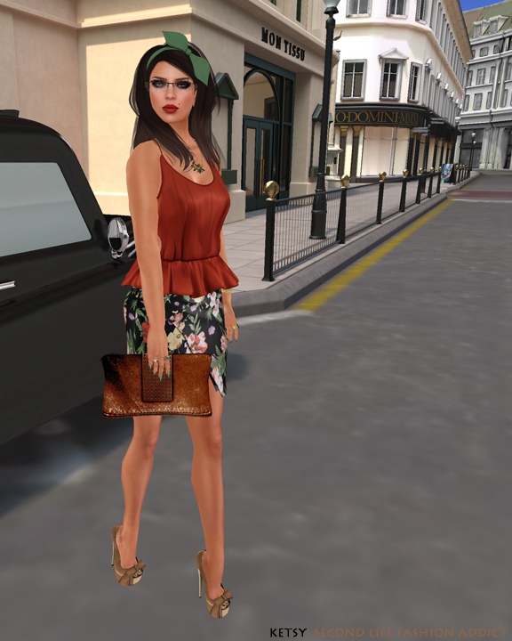 Lush As Spring Tulips - NEW Blog Post @ Second Life Fashion Addict
