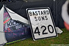 The Bastard Suns 420 Sign by Backstage VIPs Magazine