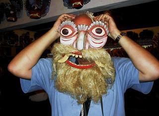Masker - Roel van Deursen - Kandy / Sri Lanka