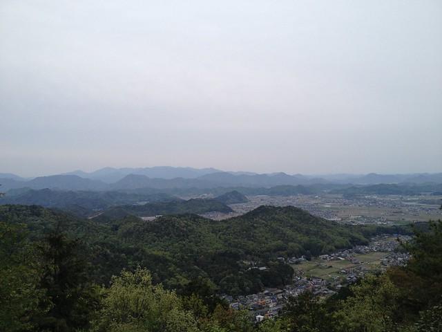 百々ヶ峰 白山展望地からの眺望