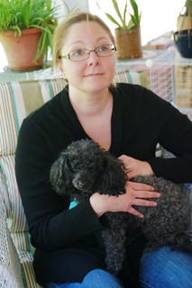 Amanda & Ritzy on Easter Sunday, 2014