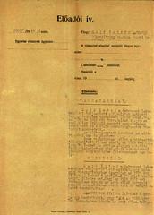 VI/1. Sajó István kérelme: mentesítő okiratot kér, mert a kivételezetteknek nem kellett a gettóba beköltöznie. 6.5_007