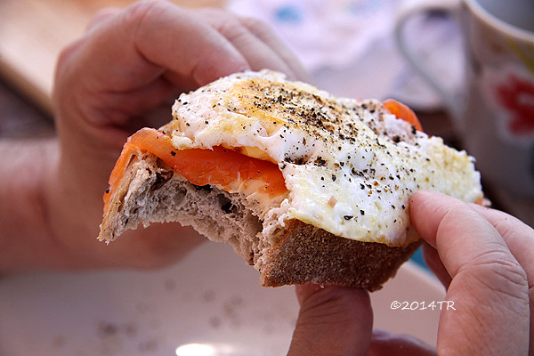 在迪恩森林的家裡吃早餐-England-20130701~