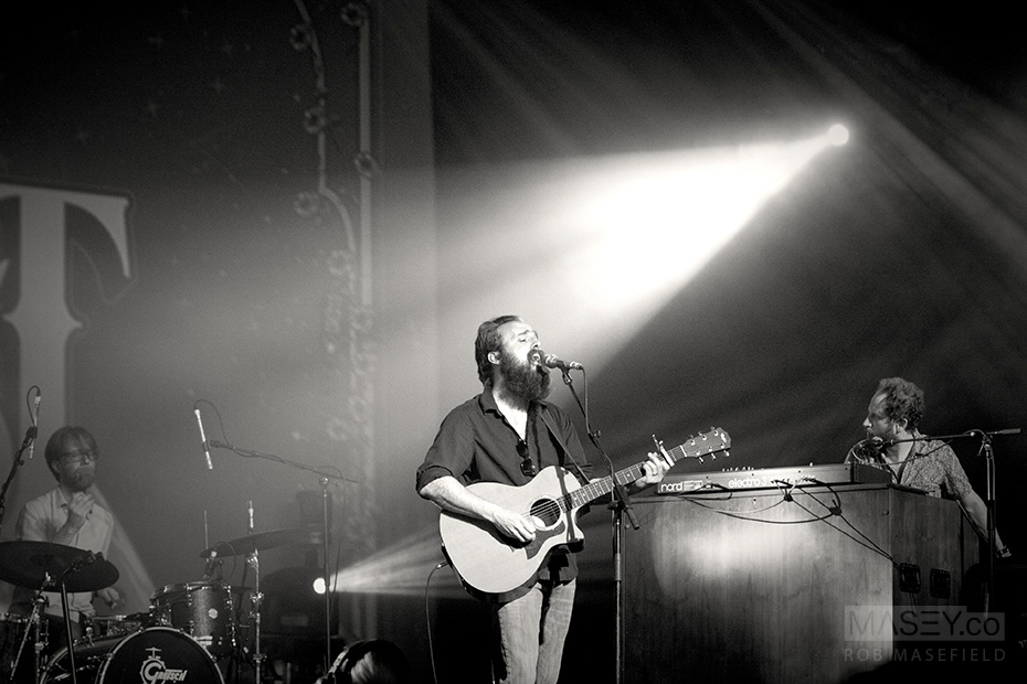 Iron & Wine's Samuel Beam.