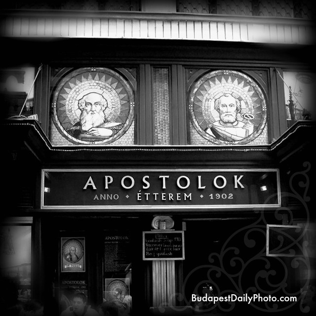 Budapest Photos Apostolok Restaurant Kigyo utca 4-6