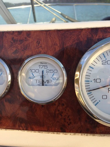 Riser temp difference, normal? - The Hull Truth - Boating and