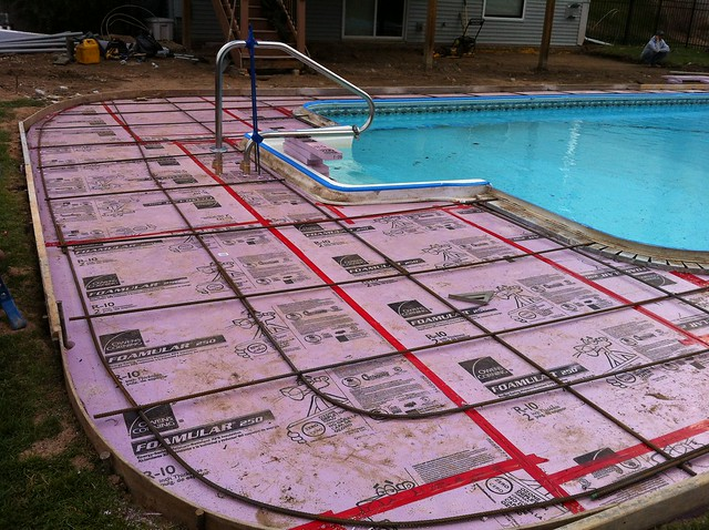 Concrete Pool Decks Photo Gallery Delectable Stamped Concrete Pool Deck