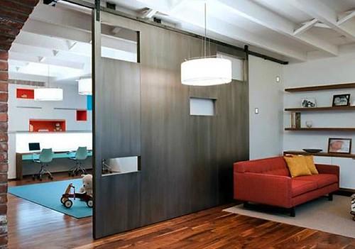 Maneras creativas de decorar utilizando separadores de for Muebles separadores de espacios