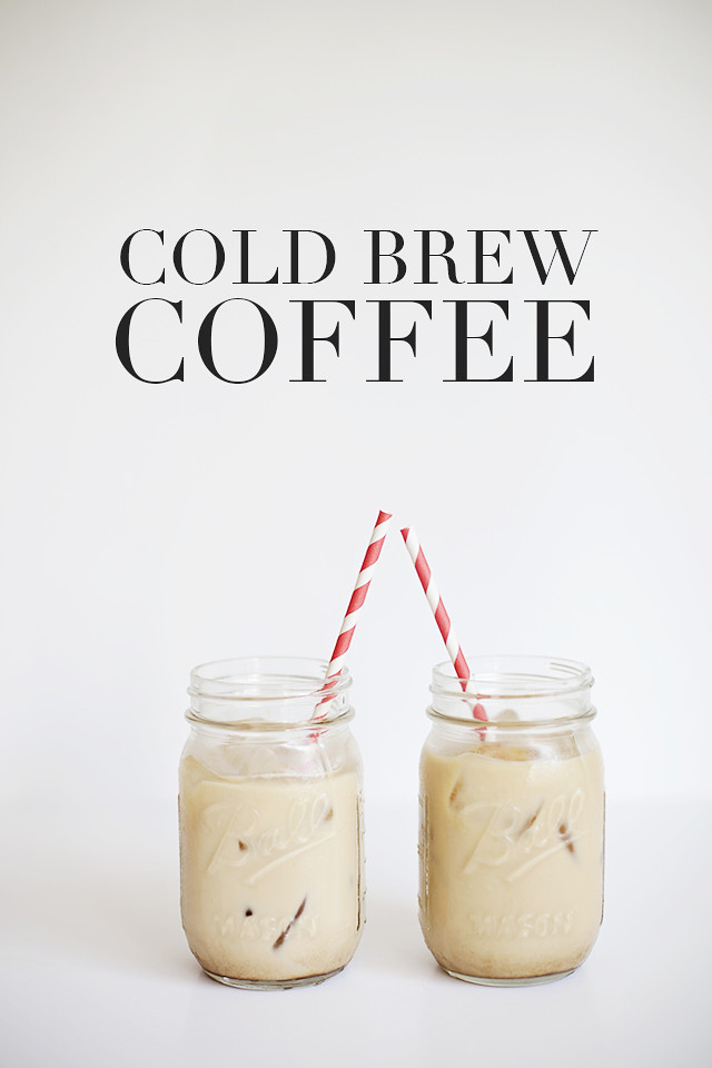 Cold brew coffee. It's delicious, it's quick, it's easy (almost ...