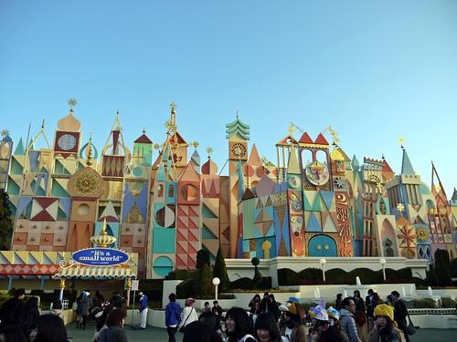 Tokyo Disneyland Before Sunset