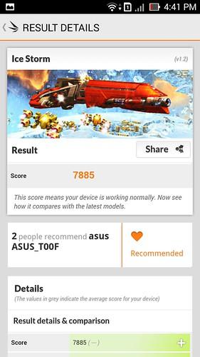 Hiệu năng của ASUS Zenfone 5 RAM 2GB - 21240