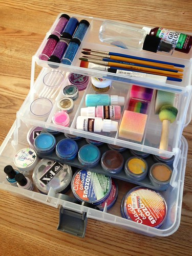 My face paint box