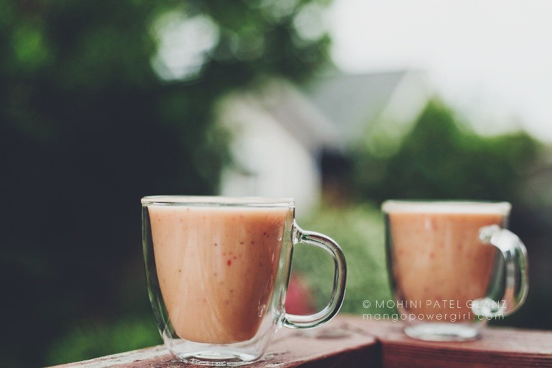 Strawberry Mango Lassi Recipe