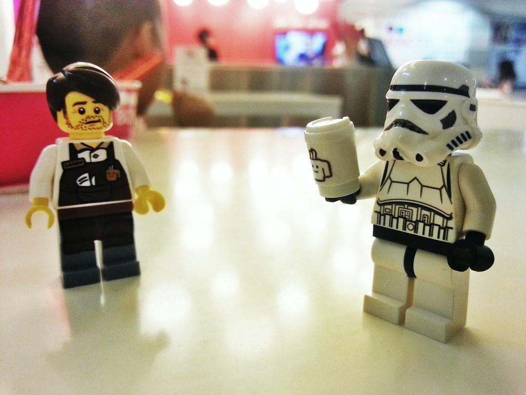 the rebellion will end soon... we successfully replaced their coffee depot with decaf