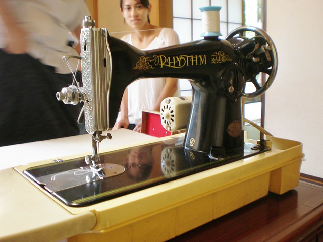 Vintage Rhythm Sewing Machine 2