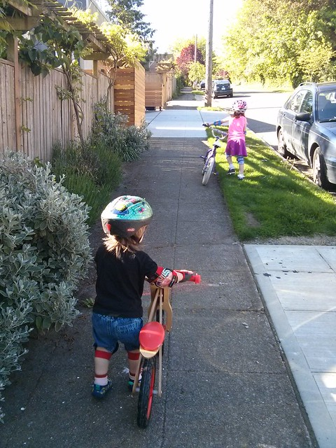"""Biking"" to the park"