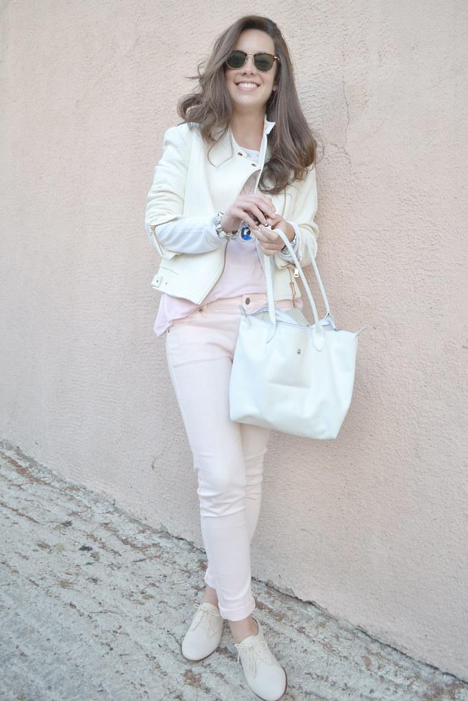 Jersey Bicolor y Pantalones Rosas