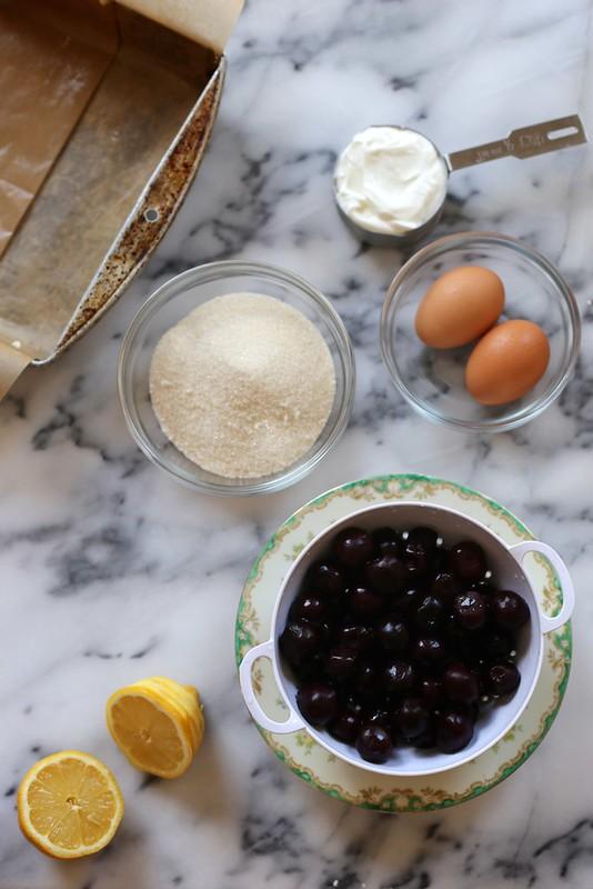 Cherry Pie Bars // joy the baker
