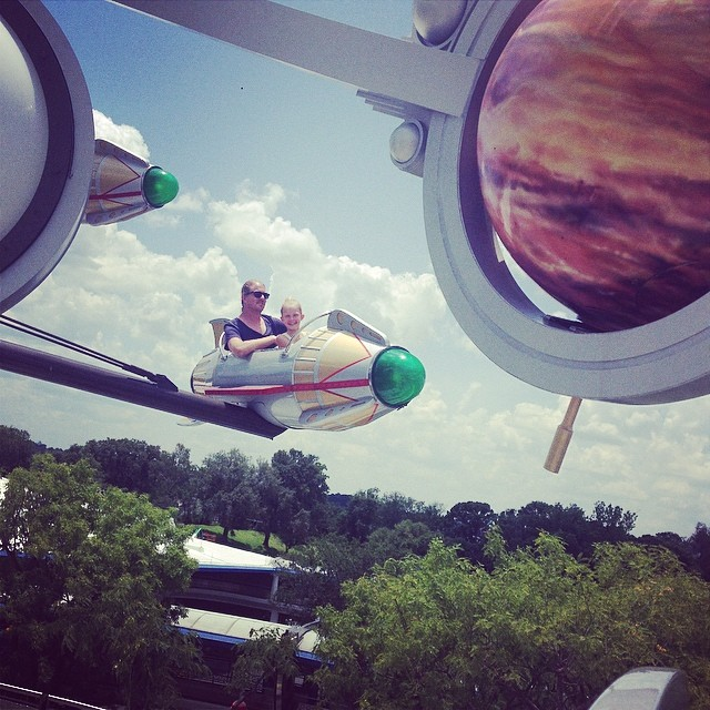 Sometimes you just gotta take a flight over Tomorrowland.