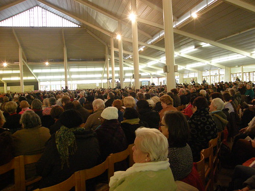 About 2,500 people attended the excellent address delivered by Vassula in Banneux