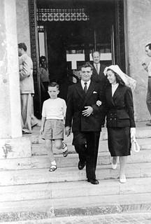 Maroc, 1952, Casablanca, mariage