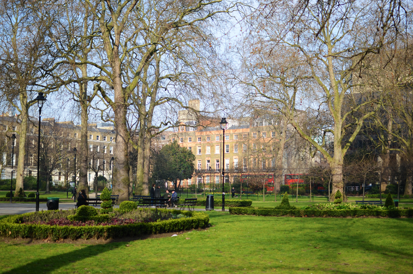 russell square and buses