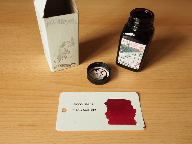 Noodler's Tiananmen - Ink Review