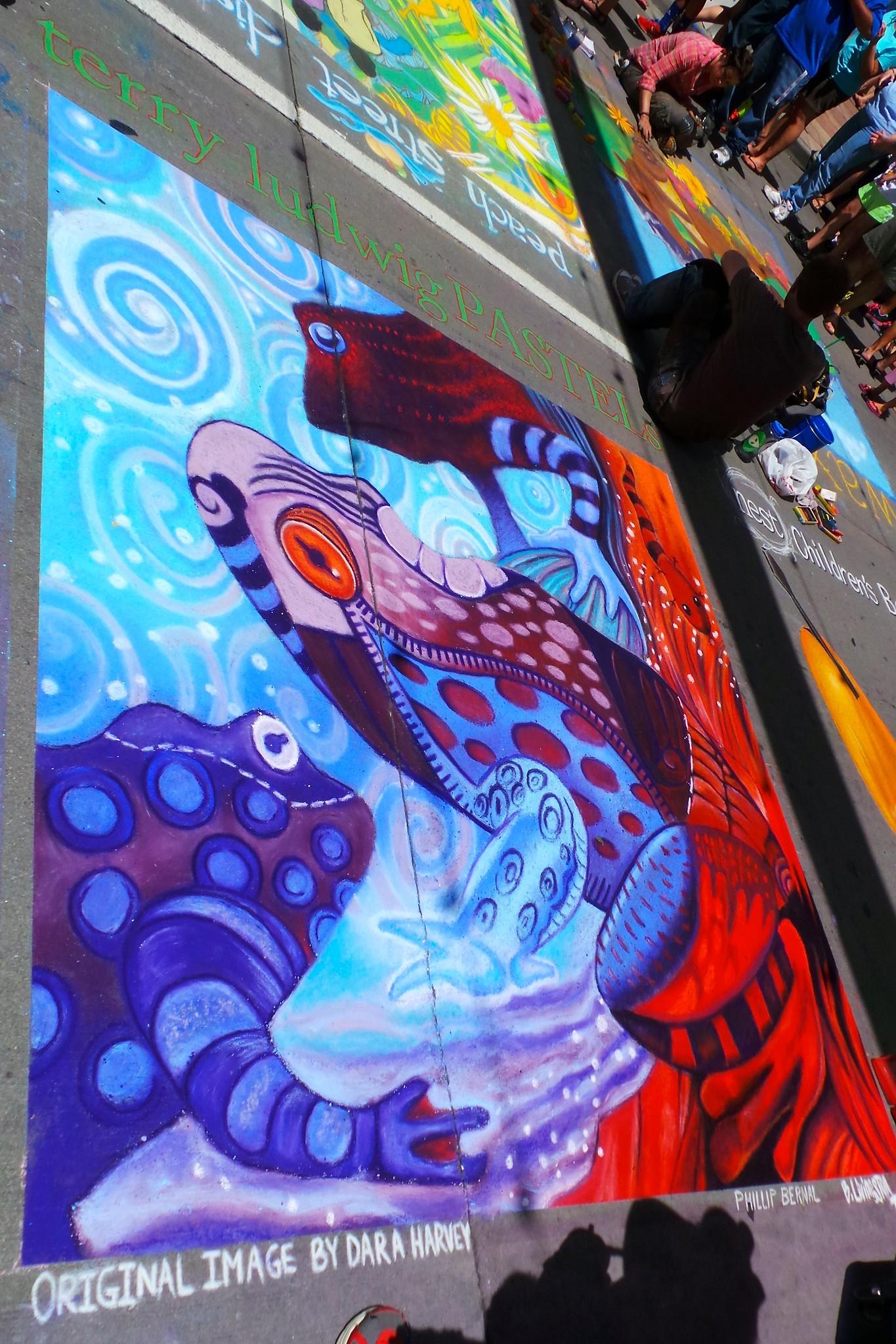Chalk Art Festival - 18
