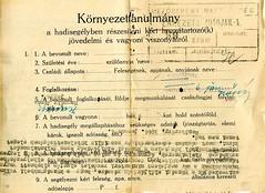 VII/2.a. a hazatérő deportáltak részére élelmiszer és ágynemű biztosítása