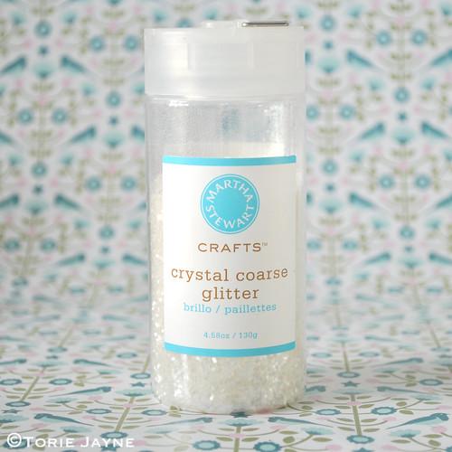 Crystal coarse glitter