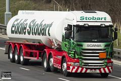 Scania R440 6x2 Tractor - PJ11 AVY - Carol Jo - Eddie Stobart - M1 J10 Luton - Steven Gray - IMG_4907