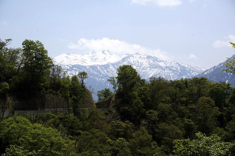 白山撮影スポットを訪ねて 林道高倉山線 その2