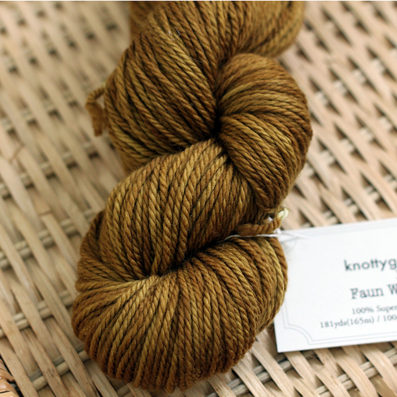 Faun Worsted - Golden Honey