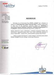 Referencje Urzędu Miasta Lędziny 2010r.