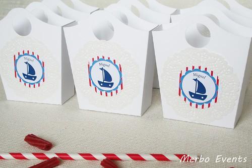 Cestitas  comunión marinera Merbo Events