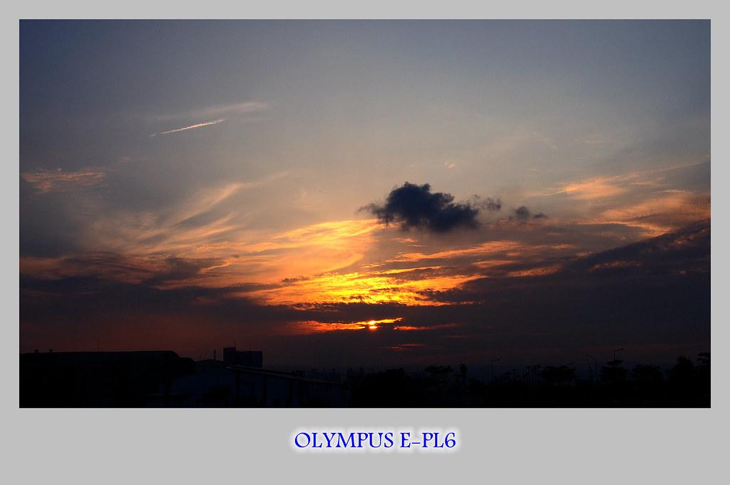 幾度夕陽。紅 E-PL6
