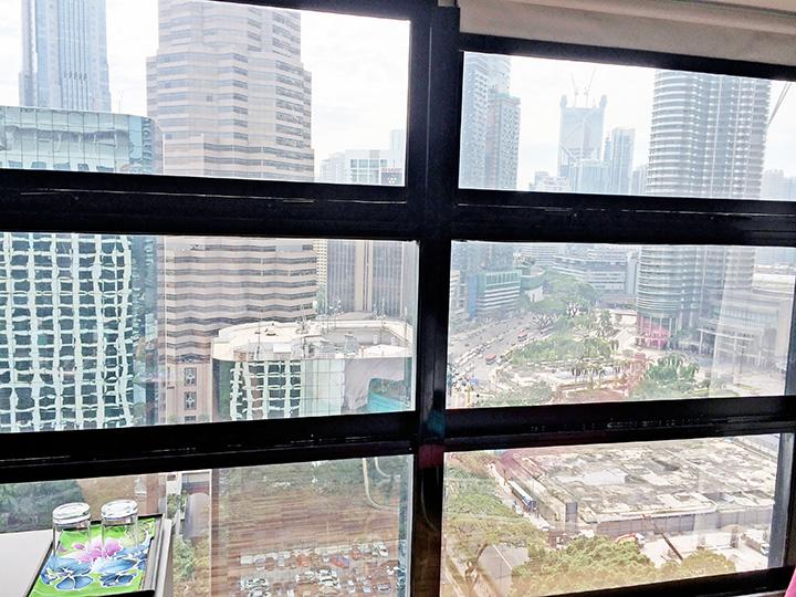 maya hotel KL view