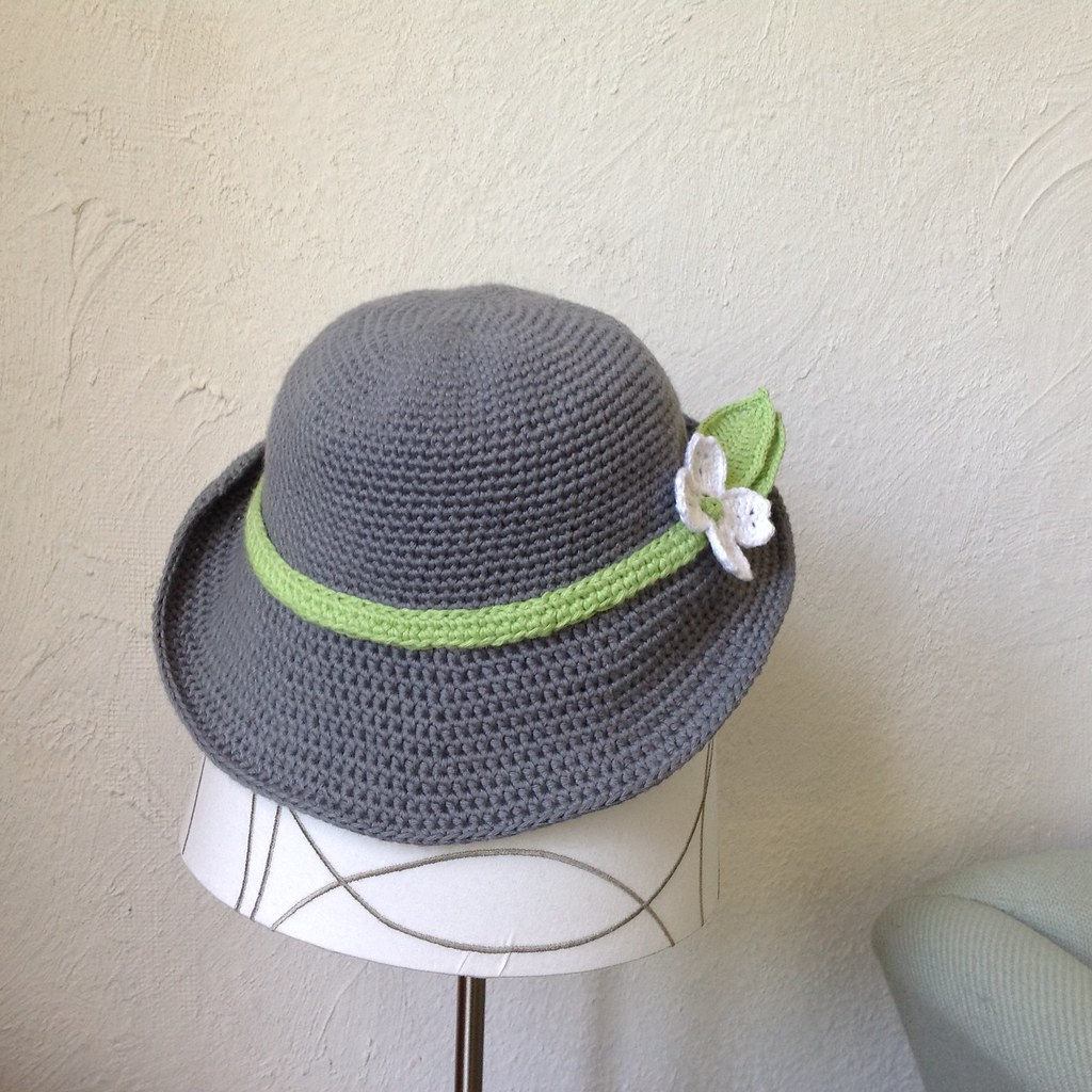Suvi\'s Crochet: Spring Hat