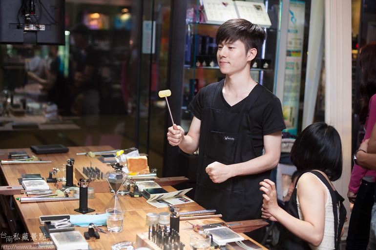台南私藏景點--小安的店DIY銀飾 (11)