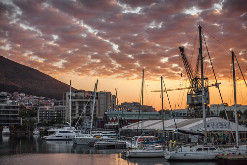 sunset sky clouds marina landscape southafrica boats outdoors waterfront capetown yachts westerncape canonef50mmf14usm 5dm2 5dmii