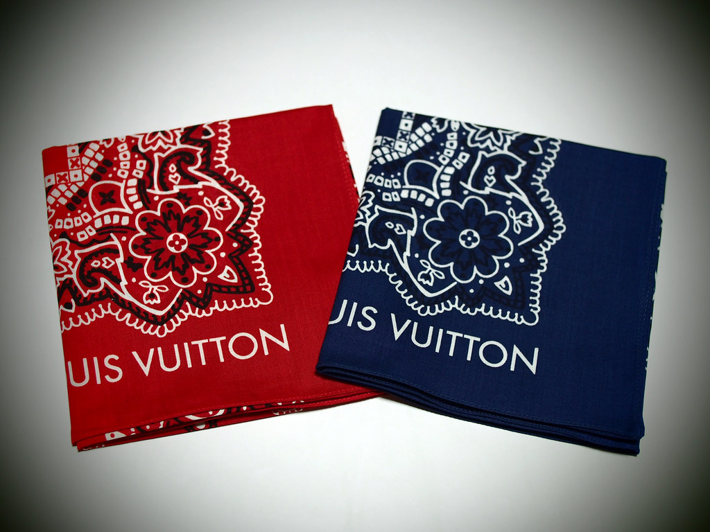 Louis Vuitton | Paisley Bandana Set